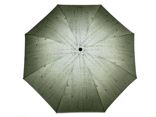 Dámský skládací deštník kapky