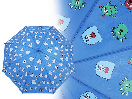 Gyermek esernyő varázslatos cupcakes, szörnyecskék, autók