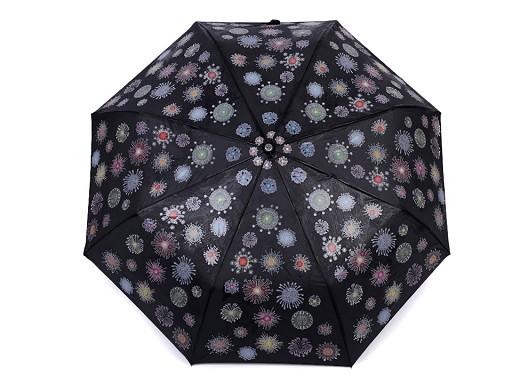 Dámsky skladací vystreľovací dáždnik čarovný