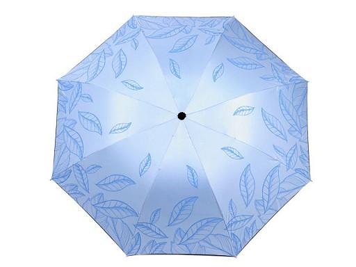 Dámský skládací deštník listy