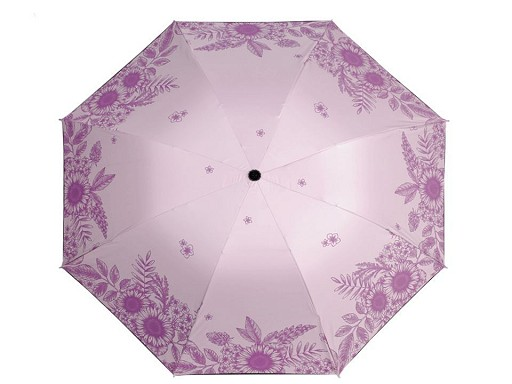 Dámsky skladací dáždnik kvety