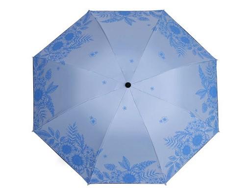 Dámský skládací deštník květy