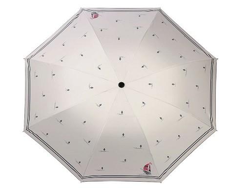 Dámský skládací deštník námořnický