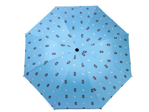 Dámský / dívčí skládací deštník kočka