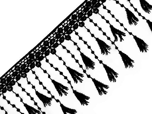 Vzdušná krajka s třásněmi šíře 12 cm
