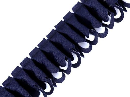 Volánek žoržetový vysekávaný šíře 45 mm