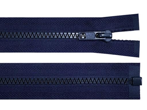 Kostěný zip šíře 5 mm délka 50 cm bundový