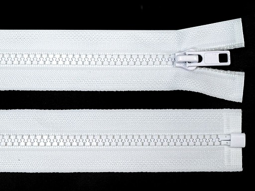 Plastic Zipper 5 mm open-end 60 cm jacket