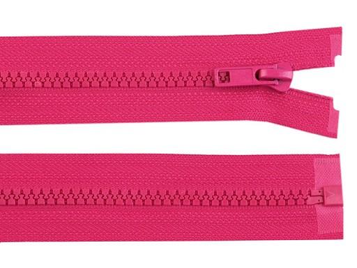 Kostěný zip šíře 5 mm délka 60 cm bundový