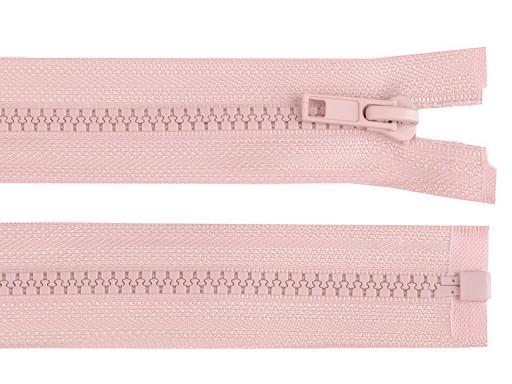Kostěný zip šíře 5 mm délka 75 cm bundový