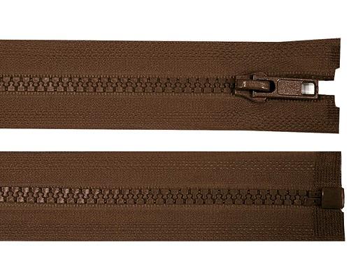 Kostěný zip šíře 5 mm délka 80 cm bundový
