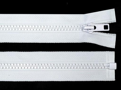 Kostený zips šírka 5 mm dĺžka 90 cm bundový