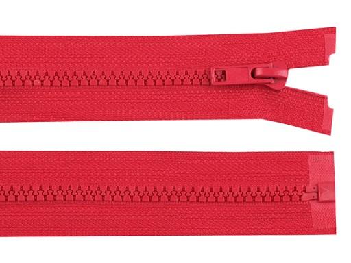 Kostěný zip šíře 5 mm délka 90 cm bundový