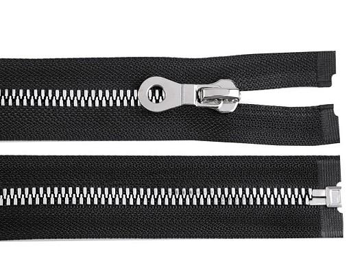 Kostěný zip šíře 8 mm délka 50 cm