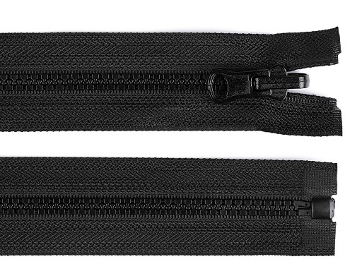 Kostěný zip šíře 5 mm délka 50 cm oboustranný