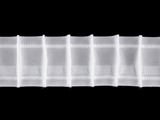 Záclonovka šíře 35 mm tužkové řasení