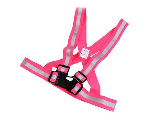 Reflexní elastické šle pro děti šíře 4 cm