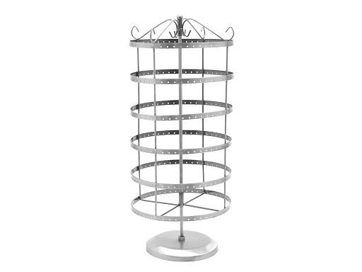 Ständer für Ohrringe drehbar  Ø 20 cm Höhe 47cm B-Ware