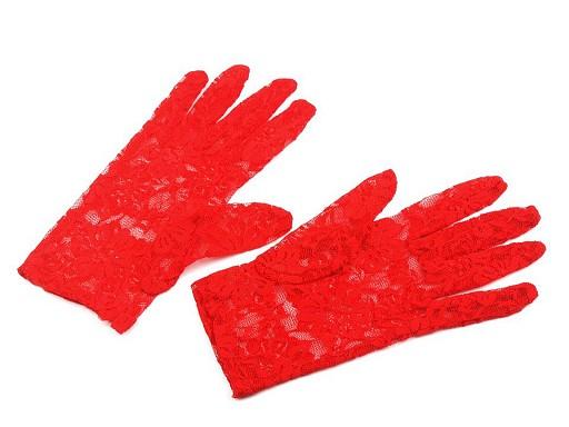 Rękawiczki wizytowe koronkowe