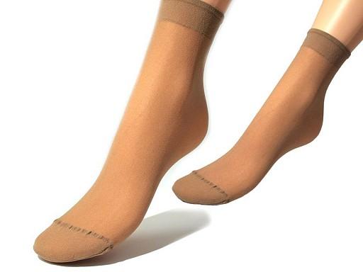 Silonové ponožky 20 den 5 párov Evona