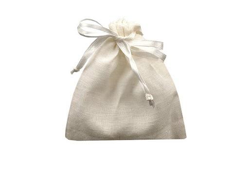 Drawstring Linen Bag 8x8 cm