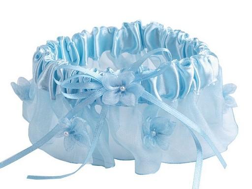 Svatební podvazek šíře v rozmezí od 6-7 cm