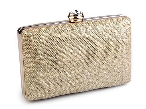 Handtasche Clutch 9,5x15,5 cm mit Lurex