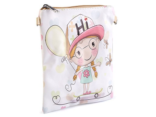 Dievčenská kabelka 14x18 cm