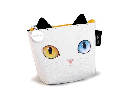Peňaženka / puzdro mačka Languo 8x11 cm