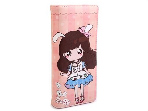 Dámska / dievčenská peňaženka 9x18 cm