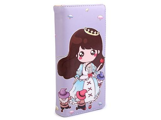 Dámská / dívčí peněženka 9x18 cm
