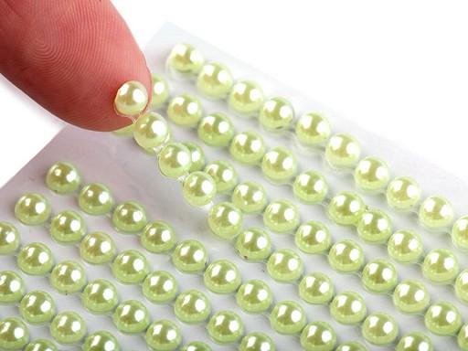 Samolepicí perly na lepicím proužku Ø4 mm