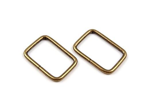 Průvlek / vsuvka šíře 20 mm na koženou galanterii