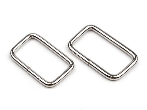 Průvlek / vsuvka šíře 25 mm na koženou galanterii