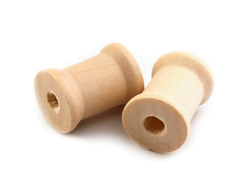 Dřevěná cívka 15x19 mm
