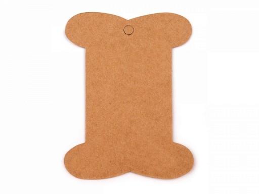 Card expunere panglici / șnururi, 8x10,5 cm