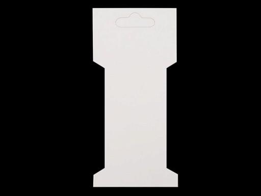 Karta papierowa 6,6x13,5 cm