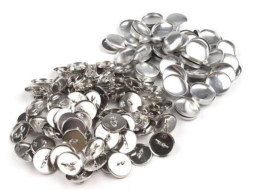 """Foremki guzików do obciągania materiałem rozmiar 32"""" metalowe"""