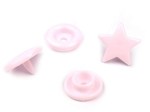 """Plastové patentky velikost 20"""" hvězda"""