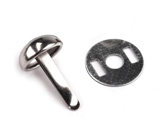 Ţinte metalice / piciorușe metalice genți, 12x22 mm
