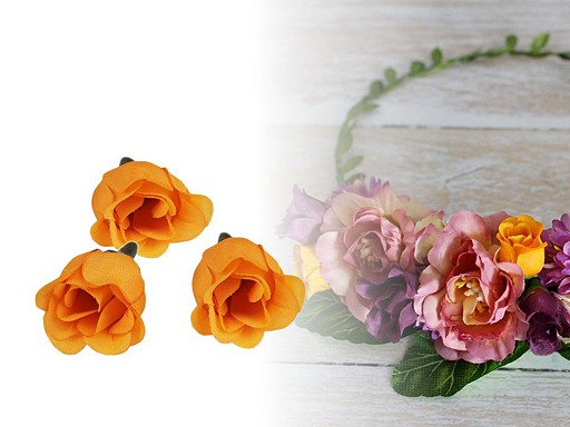 Umelý kvet ruže Ø25 mm