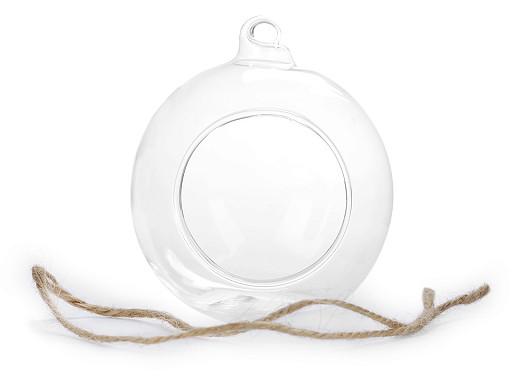 Skleněná koule Ø8 cm aerárium