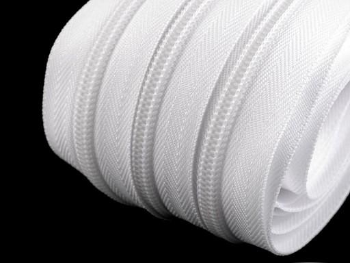 Zip spirálový šíře 7 mm metráž