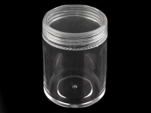 Plastová dóza 3,9x4,9 cm šroubovací