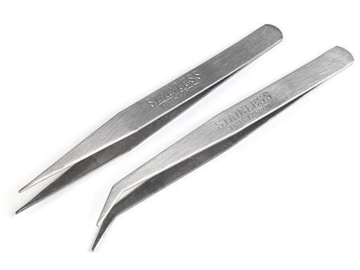 Pęseta metalowa długość 12,5cm