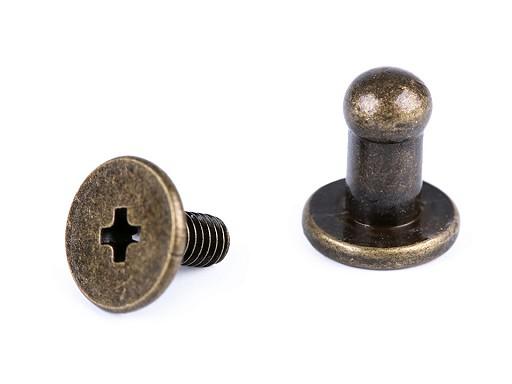 Sedlářský nýt šroubovací Ø4 mm