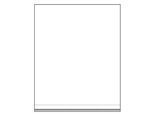 Celofánové sáčky s lepicí lištou 19,5x25 cm