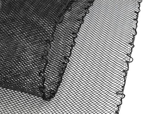Modistická krinolína na vyztužení šatů a výrobu fascinátorů šíře 12 cm