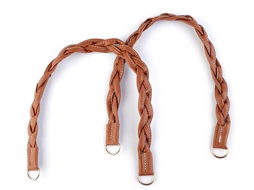 Rúčky na tašky prepletené dĺžka 47-50 cm