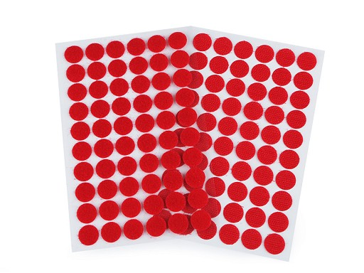 Suchý zip samolepicí kolečka Ø15 mm